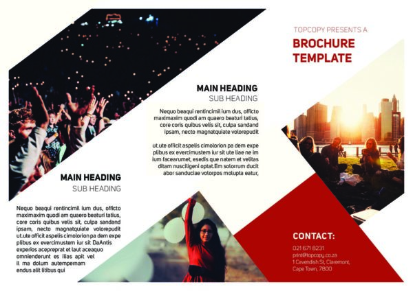 Topcopy Indesign Brochure Template