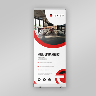 product image pull-up banners
