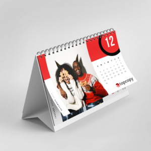 product image tent calendar